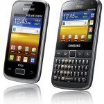 Samsung Galaxy Y DUOS et Galaxy Y Pro DUOS deux Android Phones Dual Sim