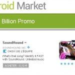 Android Market – 10 centimes l'application pour une durée limitée