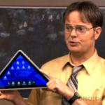 Pourquoi pas une tablette tactile pyramidale sous Android ?