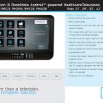 GENERATION III ROOMMATE – la télévision sous Android pour les services hospitaliers