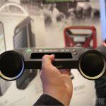 Eton Rukus – Un système audio portable solaire #CES2012