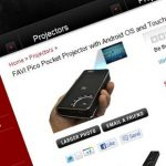 FAVI A3-WiFi – Un Pico Projecteur sous Android