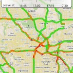 INRIX Traffic – Une application gratuite pour le trafic routier