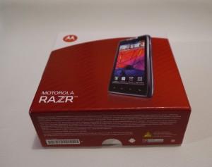 Motorola Razr - boîte