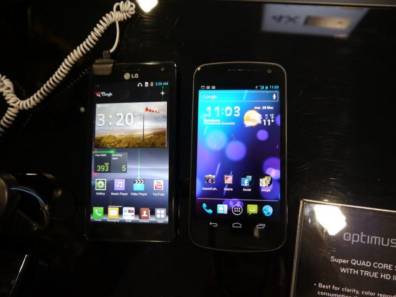 LG Optimus 4X HD vs Samsung Galaxy Nexus