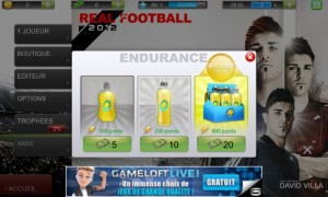 Endurance Real Football 2012