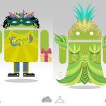 Mise à jour Carnavalesque pour Androidify !