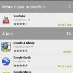 Google Play Store – Une nouvelle version pour l'ancien market