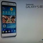 Samsung Galaxy SIII – La première image réelle ?