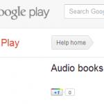 Google Play – Livres audio et journaux bientôt disponible?