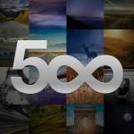 500px – Le client officiel du service de partage de photo est disponible
