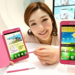 Samsung Galaxy Note – Une version girly pour la Corée