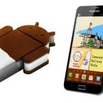 Samsung Galaxy Note – Une vidéo de la prochaine mise à jour Android 4.0