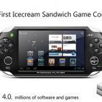 JXD S5110 – La console portable sous Android 4.0 ICS