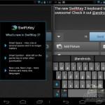 Swiftkey 3 – Nouvelle interface en version beta
