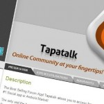 Tapatalk – Version 2.0 disponible