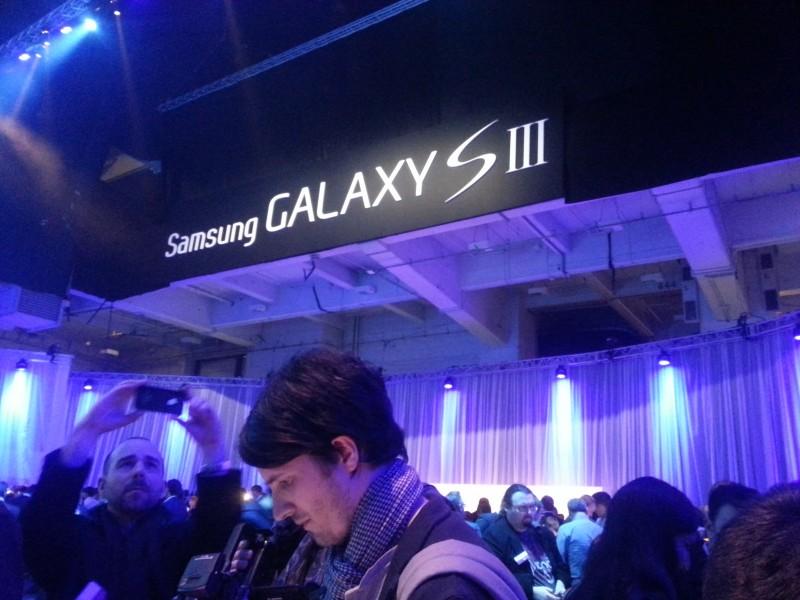 Photo prise par le Samsung Galaxy S III