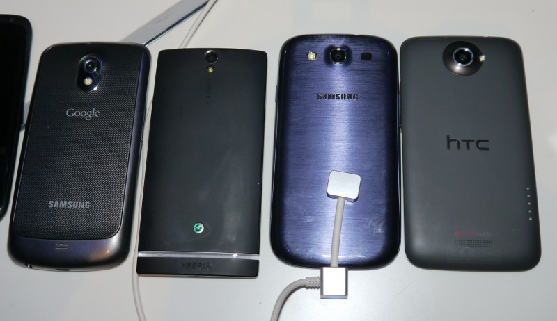 HTC One S vs Samsung Galaxy Nexus vs Sony Xperia S vs Samsung Galaxy S III vs HTC One X