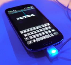 Galaxy S III clavier