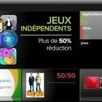 Google Play – Une faute d'aurthographeu sur la home