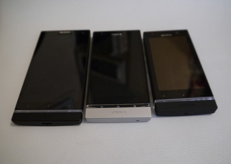 Sony Xperia S vs Xperia P vs Xperia U