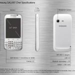 Samsung Galaxy Chat : Un nouveau smartphone avec clavier physique sous Android 4.0