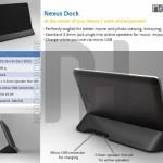 Nexus 7 – Photos et prix du dock et des étuis officiels