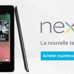 Nexus 7 – La tablette disponible sur Google Play