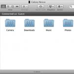 Droid NAS – Transformer votre terminal en serveur de fichiers pour MAC