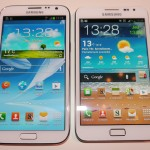 Galaxy Note 2 vs Galaxy Note