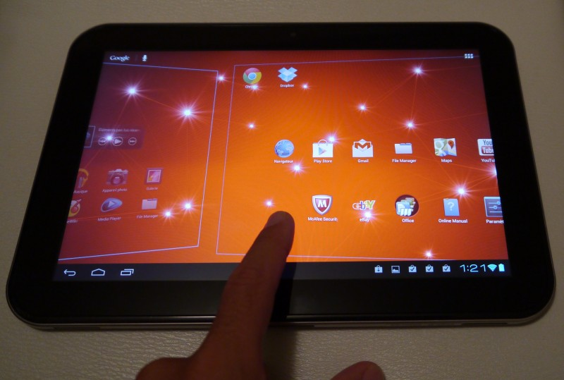 Toshiba AT300 Android