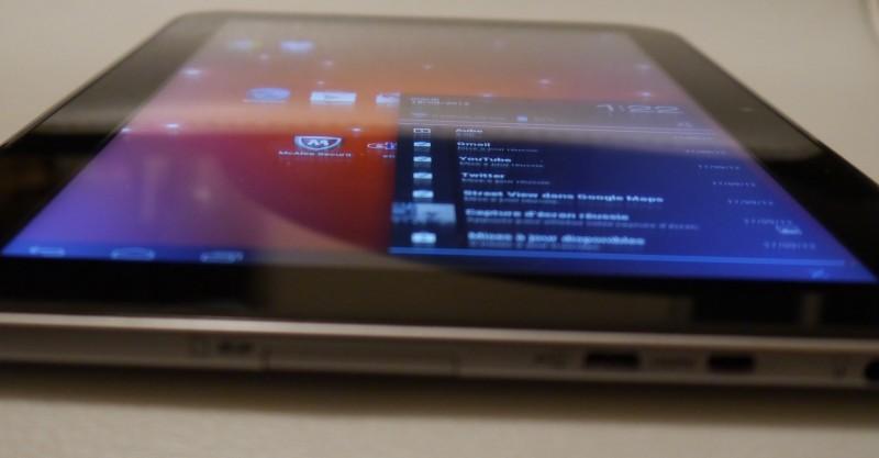 Toshiba AT300 écran