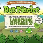 Bad Piggies – Le prochain opus d'Angry Birds annoncé pour le 27 septembre
