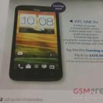 HTC One X+ – Filtrage des caractéristiques techniques