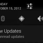 Android 4.2 – Vers une deuxième barre des notifications ?