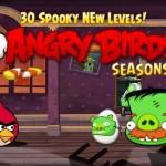 Angry Birds Seasons – Les nouveaux niveaux d'Halloween disponibles