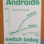 Droidfood – Facebook fait de la propagande Android chez ses employés