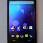 Test du LG/Google Nexus 4