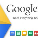 Google Drive – Mise à jour disponible avec tableur