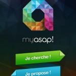 MYASAP – Une application pour trouver des services de proximité ASAP