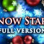 Snow Stars – Il est temps de passer au fond d'écran animé de Noël
