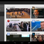Youtube – Nouvelle interface utilisateur pour les tablettes 10 pouces