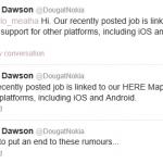 Nokia dément travailler sur un modèle sous Android
