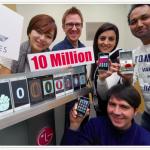 LG fête les 10 millions de serie L vendus