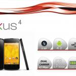 Nexus 4 – L'annonce officielle SFR