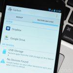 Carbon – Sauvegardez vos applications sur Google Drive ou Dropox