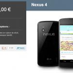 Nexus 4 – L'état des stocks change de épuisé à momentanément indisponible