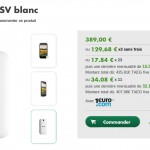 HTC One SV – 389€ chez B&YOU