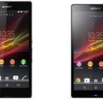 Sony Xperia Z (Yuga) y Xperia ZL (Odin) – Images officielles