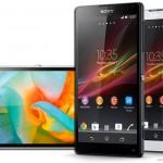 Sony présente les Xperia Z et ZL : 2 smartphones haut de gamme #CES2013
